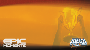 Gold Trophy Background